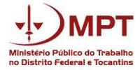 Ministério Público do Trabalho no Distrito Federal e Tocantins