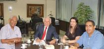 Presidente da Fecomércio recebe diretores do SINPROEP-DF