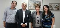 Presidente do Conselho de Educação recebe diretoria do SINPROEP-DF