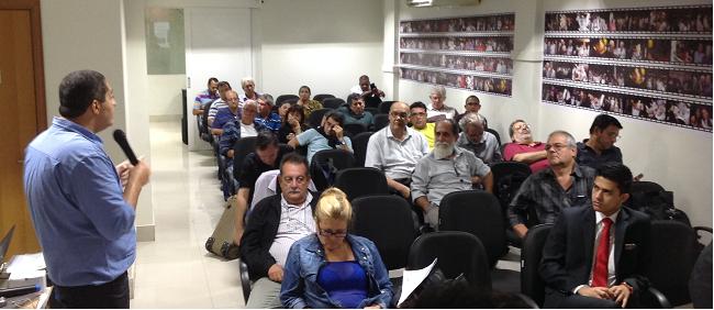 SINPROEP-DF cobra pauta positiva para trabalhadores durante seminário