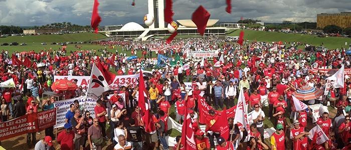Dia de mobilização contra o PL 4.330