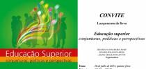 Lançamento do livro Educação Superior: conjunturas, políticas e perspectivas