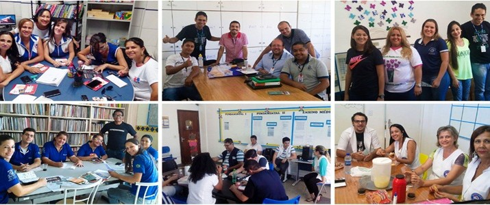 Sinproep-DF faz campanha de filiação em escolas