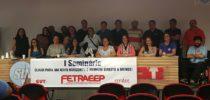 Representantes sindicais participam de seminário promovido pela FETRAEEP