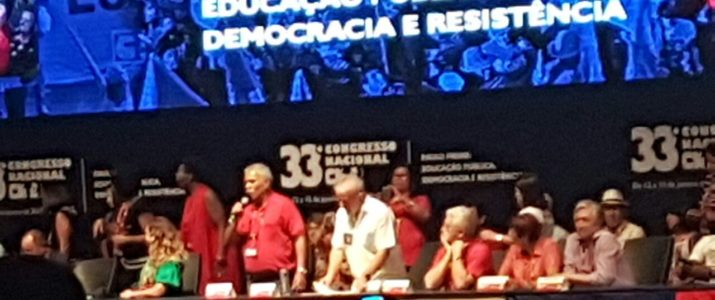 Sinproep participa do 33º Congresso Nacional da CNTE