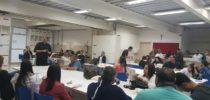 Diretoria do Sinproep visita escolas e convida professores para assembleia
