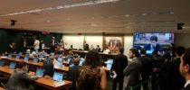 Diretoria do Sinproep marca presença na comissão especial da reforma Trabalhista