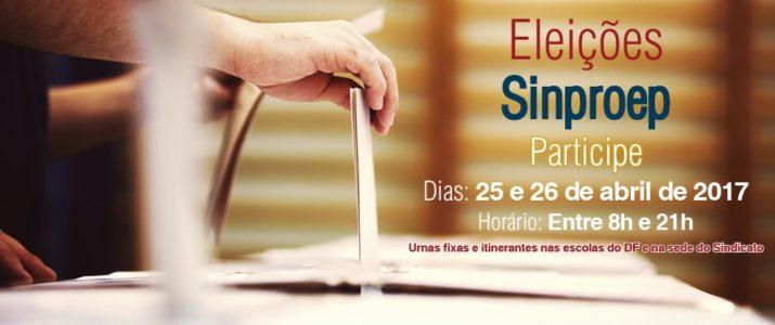 Eleições do Sindicato: votação será nos dias 25 e 26 de abril
