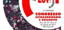Sinproep participa do Congresso Extraordinário da CUT este fim de semana