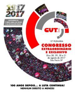 Congresso da CUT Brasília traça novas estratégias de luta sindical