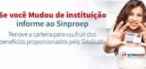 Sinproep chama filiados para atualização de cadastro