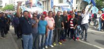 Contee lidera passeata que abriu a Jornada Continental pela Democracia e contra o Neoliberalismo